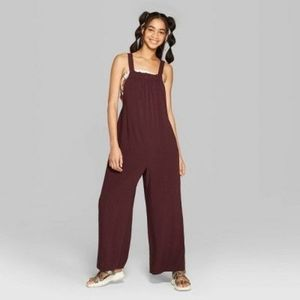 Strappy woven jumpsuit NWT